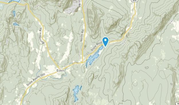 Eden Mills, Vermont Map