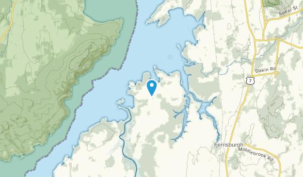 Ferrisburg, Vermont Map