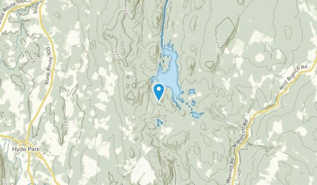 Hyde Park, Vermont Map