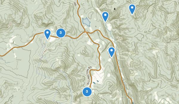Killington, Vermont Map