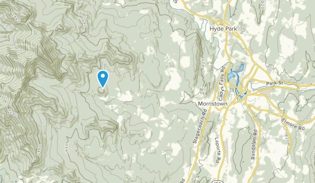 Morristown, Vermont Map