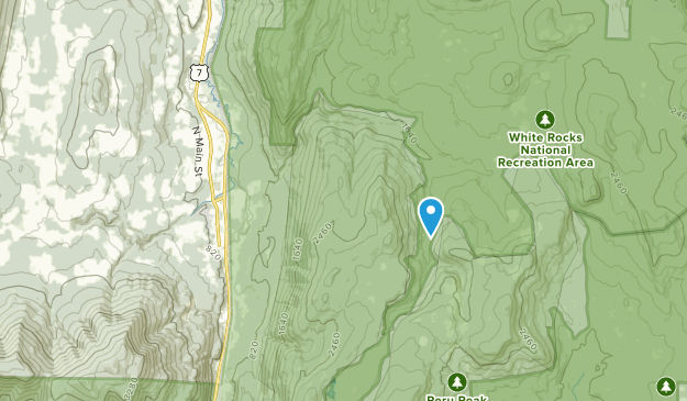 Mt Tabor, Vermont Map