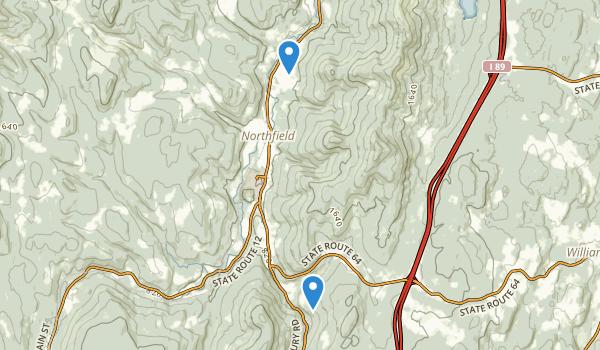 Northfield, Vermont Map