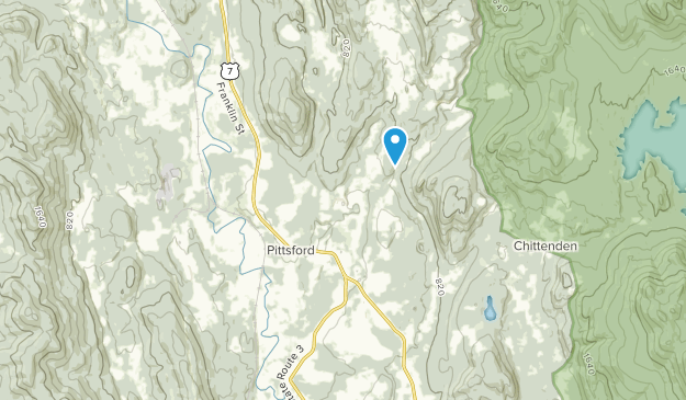 Pittsford, Vermont Map