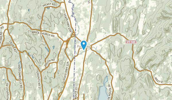 Poultney, Vermont Map
