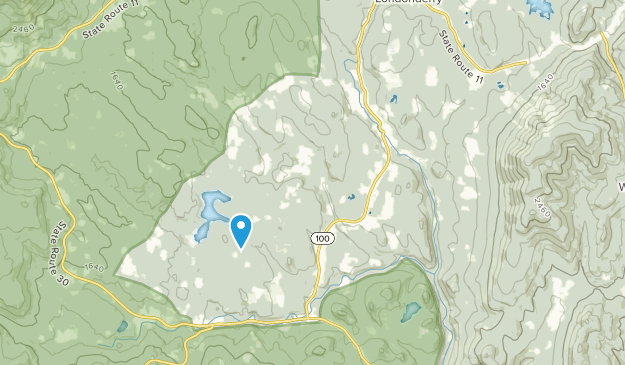 South Londonderry, Vermont Map