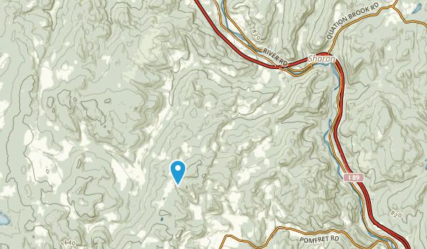 South Royalton, Vermont Map