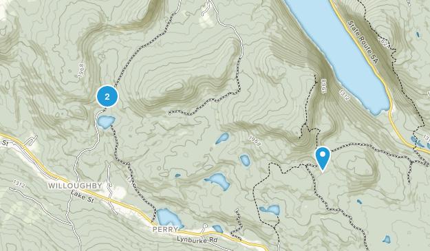 Sutton, Vermont Map