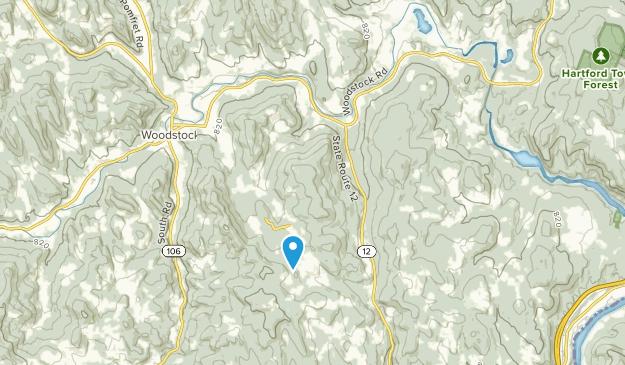 Taftsville, Vermont Map