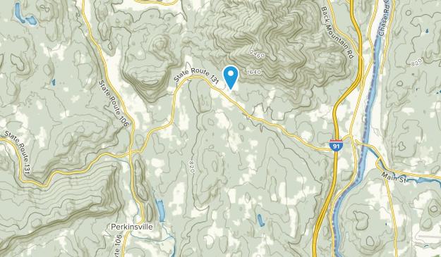 Weathersfield, Vermont Map