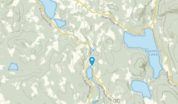 West Charleston, Vermont Map