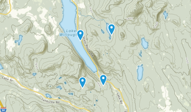Westmore, Vermont Map