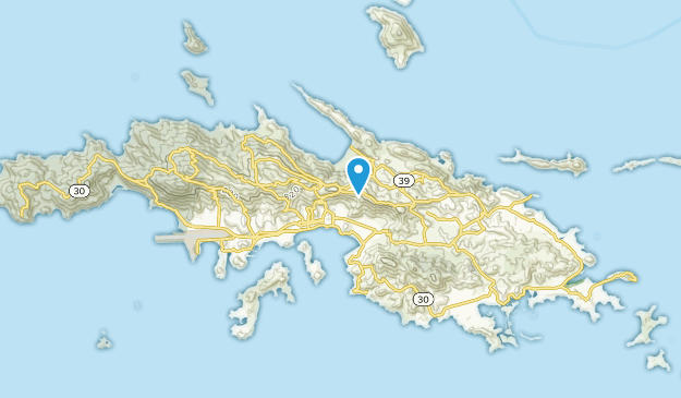 Charlotte Amalie, Virgin Islands Map