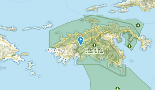 Best Trails Near Saint John Saint John Us Virgin Islands Alltrails - Map-of-st-john-us-virgin-islands