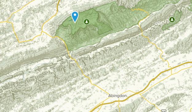 Abingdon Virginia Map.Best Trails Near Abingdon Virginia Alltrails