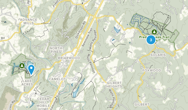 Barboursville, Virginia Map