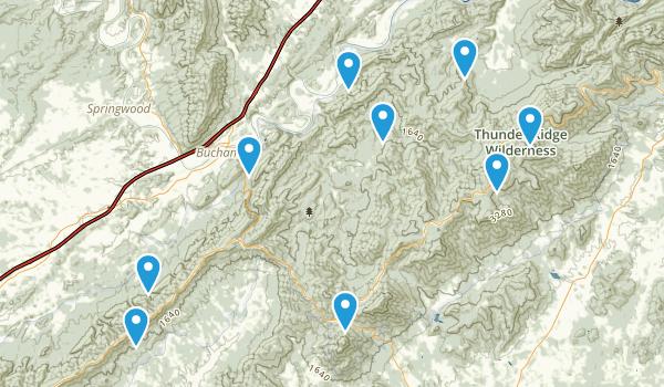 Buchanan, Virginia Map