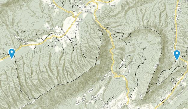 Catawba, Virginia Map
