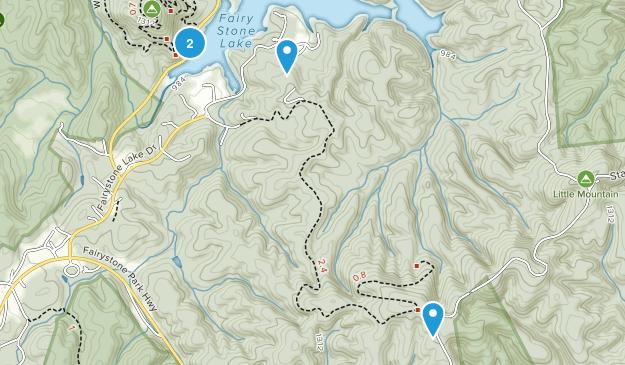 Dodson, Virginia Map