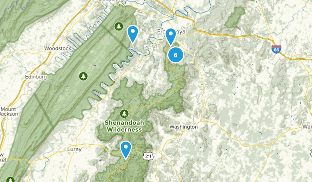 Front Royal, Virginia Map