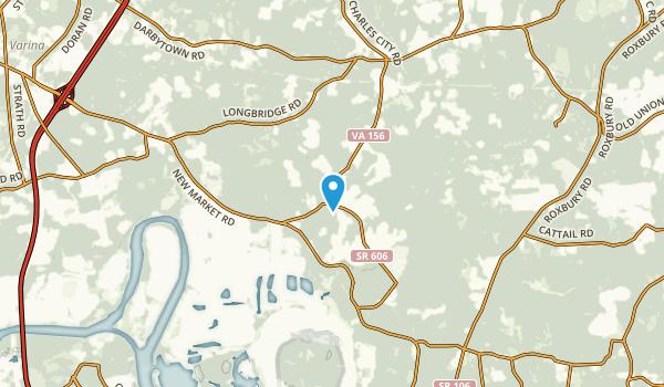Granville, Virginia Map