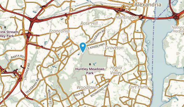 Groveton, Virginia Map