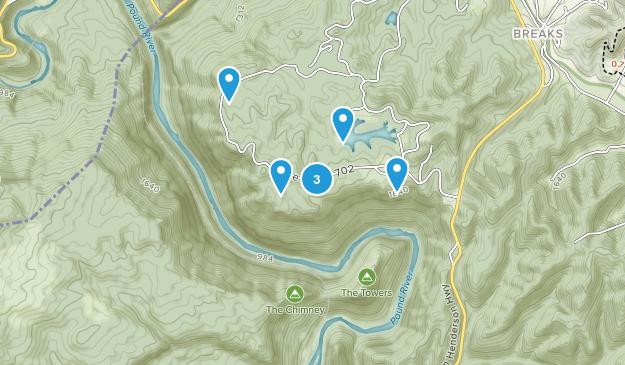 Haysi, Virginia Map