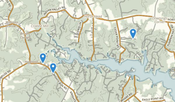 Heathsville, Virginia Map