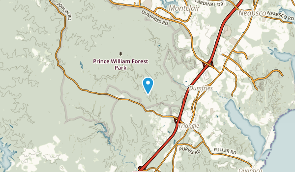 Joplin, Virginia Map