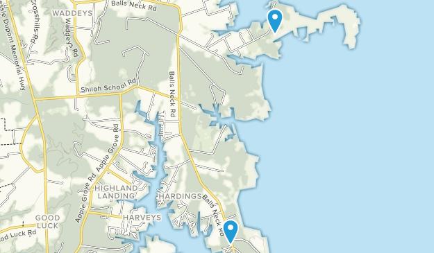 Kilmarnock, Virginia Map