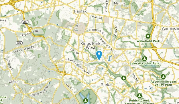 Kings Park West, Virginia Map