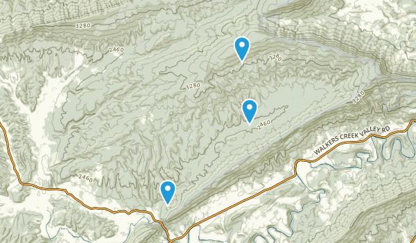 Little Creek, Virginia Map