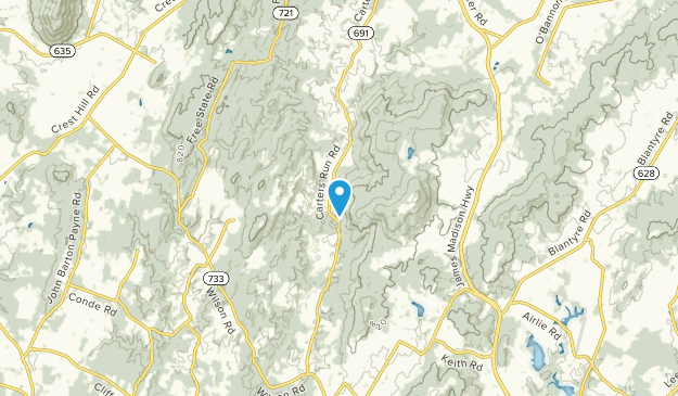 Marshall, Virginia Map