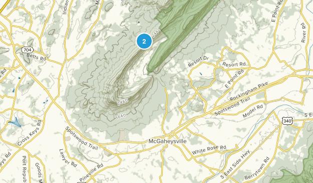 McGaheysville, Virginia Map