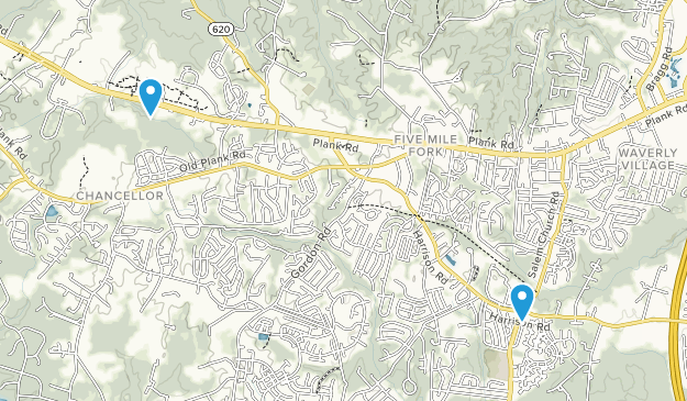 Meadows Park, Virginia Map