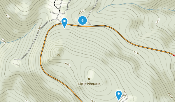 Mill Creek, Virginia Map