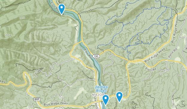 Monroe, Virginia Map