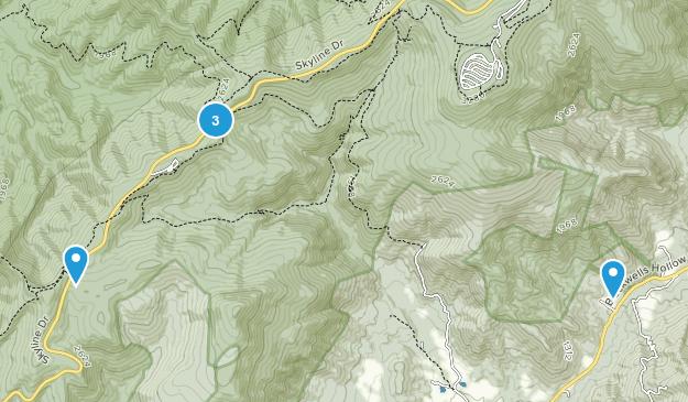 Mountfair, Virginia Map