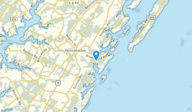 Nassawadox, Virginia Map