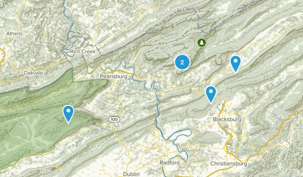 Newport, Virginia Map