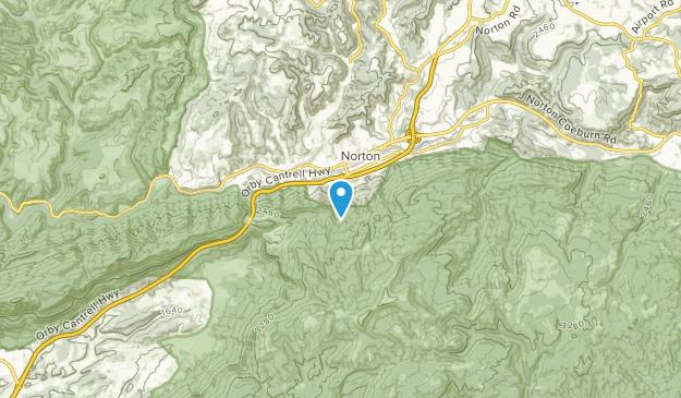 Norton, Virginia Map