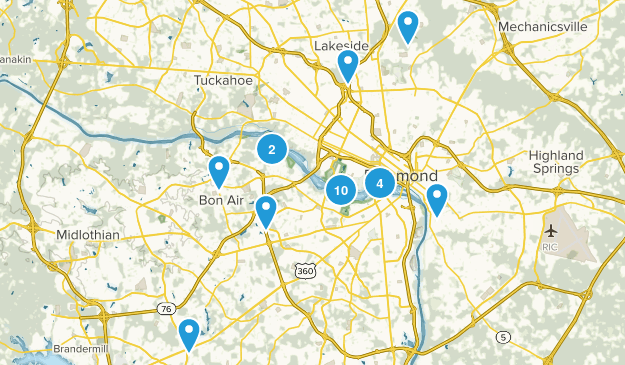 Best Trails near Richmond, Virginia | AllTrails
