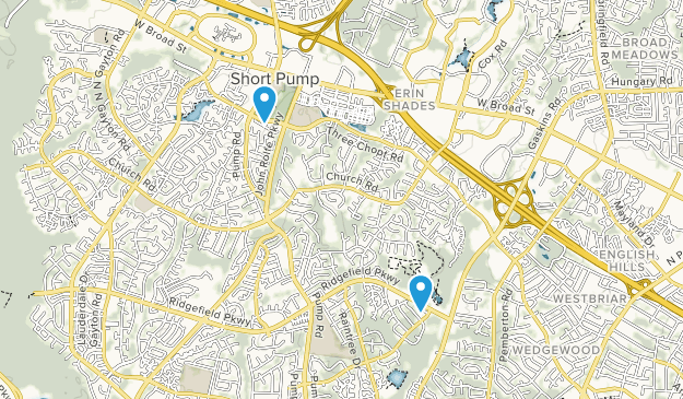 Short Pump, Virginia Map