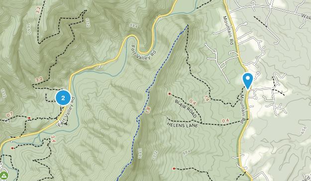 Strasburg, Virginia Map