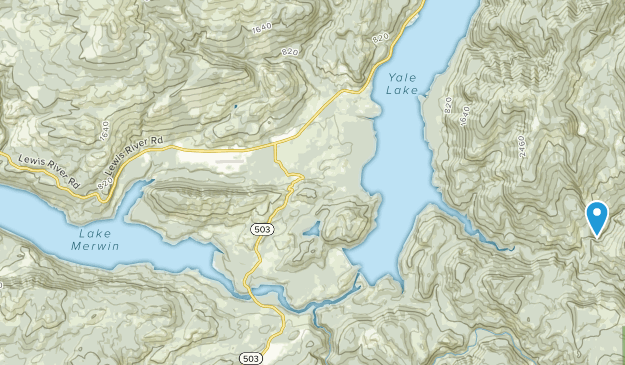 Ariel, Washington Map
