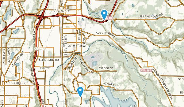 Best Trails Near Auburn Washington Photos Reviews AllTrails - Auburn us map