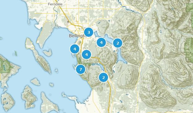 Bellingham, Washington Map