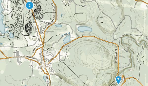 Black Diamond, Washington Map