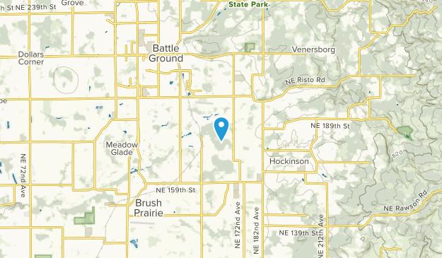 Brush Prairie, Washington Map