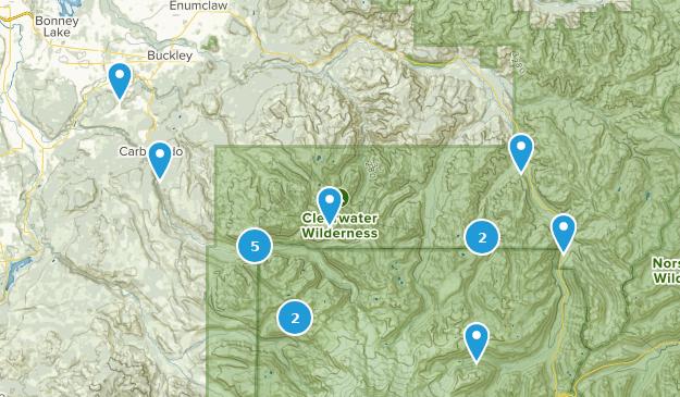 Buckley, Washington Map